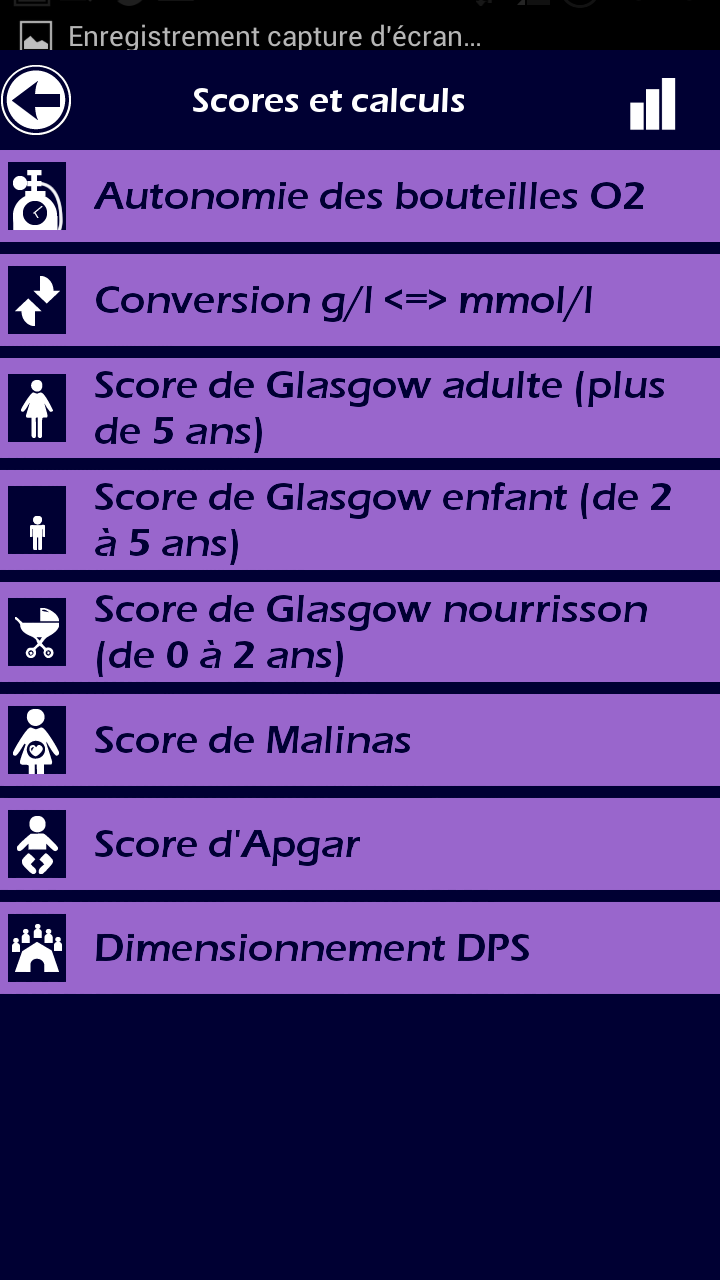 003 Ambulancier : le site de référence Application secours mobile reflex