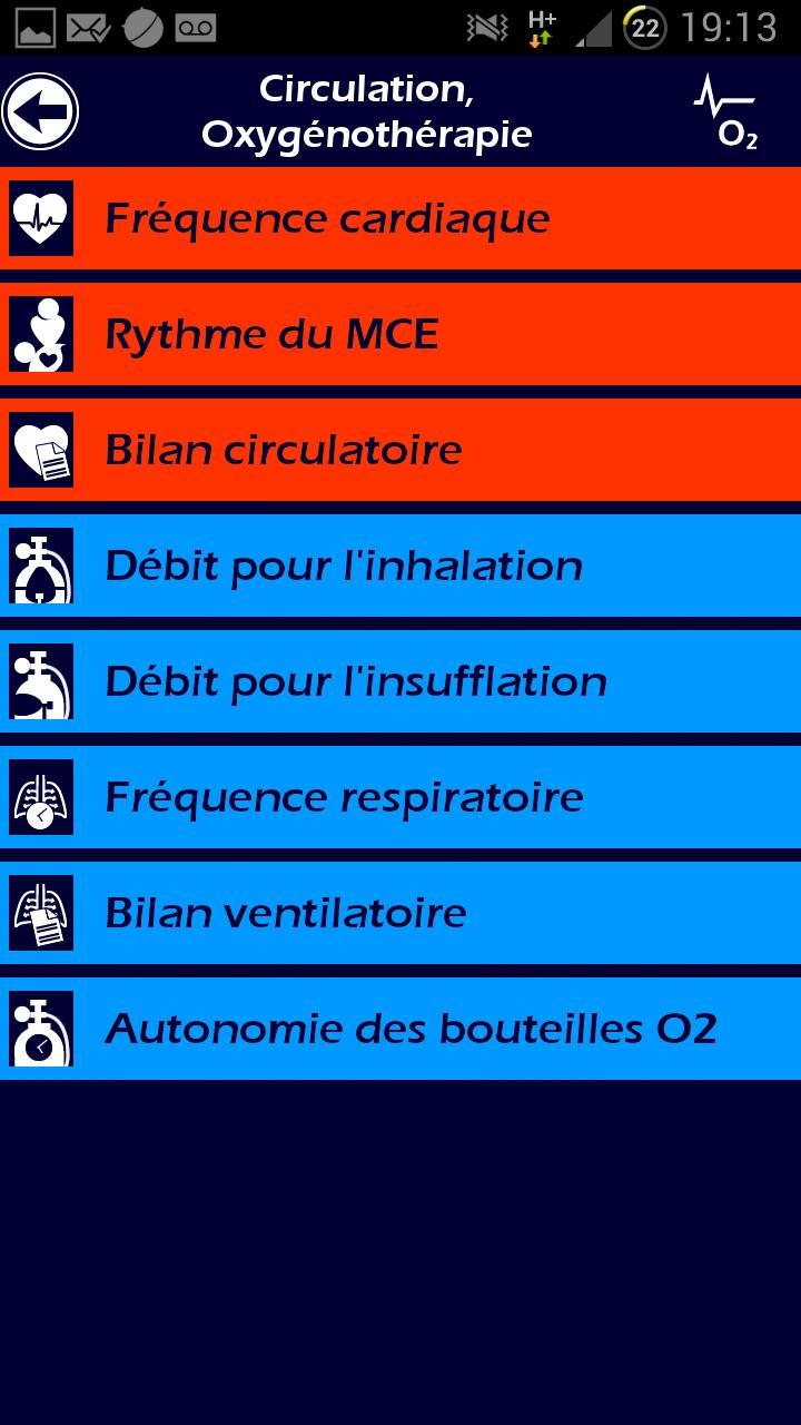 005 Ambulancier : le site de référence Application secours mobile reflex
