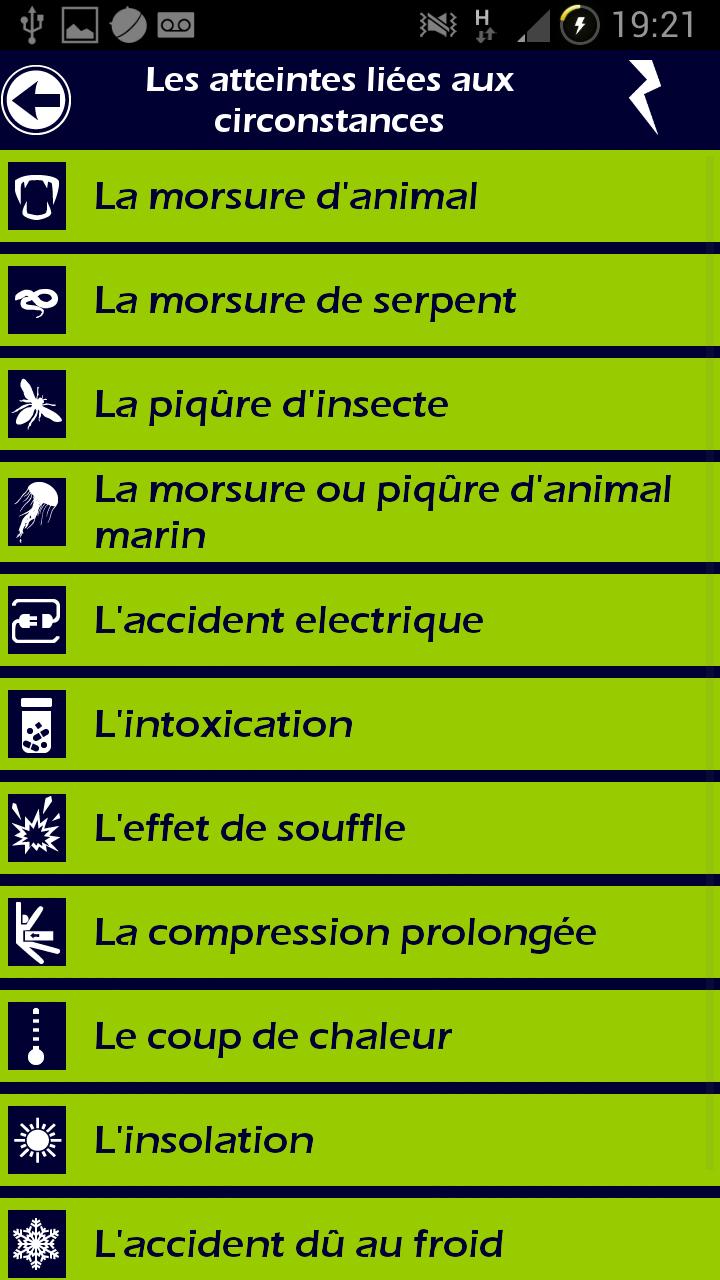 009 Ambulancier : le site de référence Application secours mobile reflex