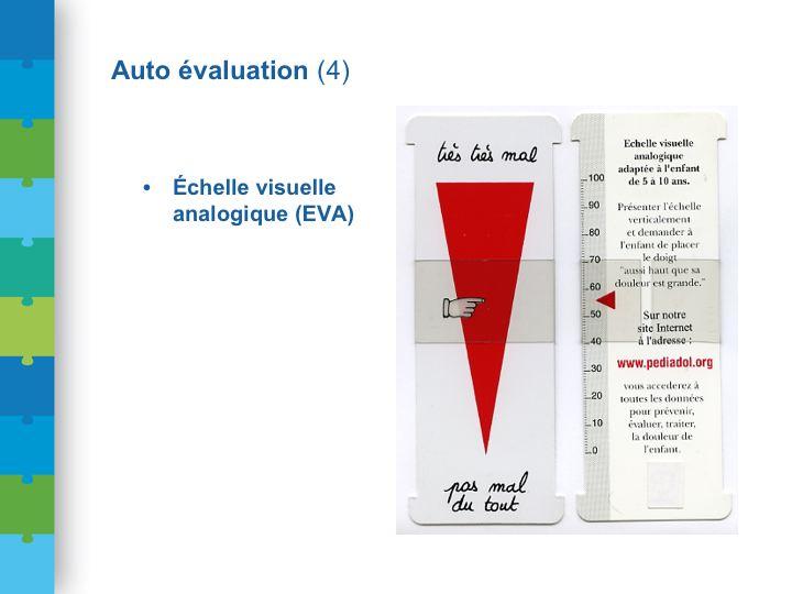 Conf DGS dia 52 Ambulancier : le site de référence L'échelle visuelle analogique