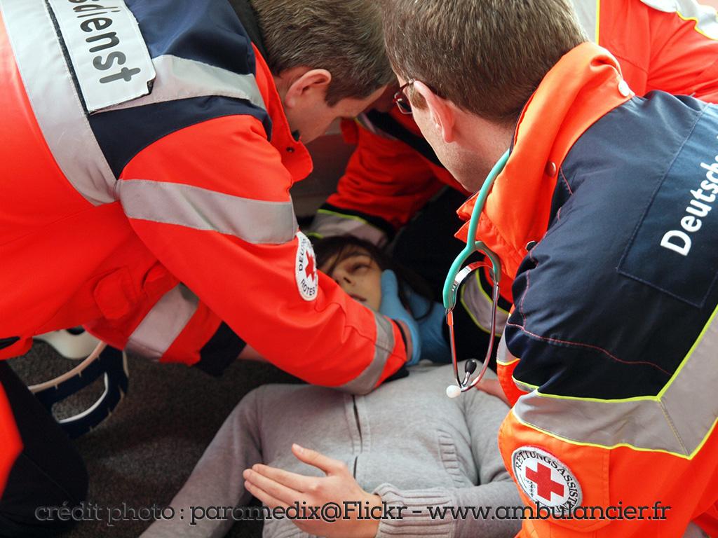 Ambulanciers le système de secours en Allemagne