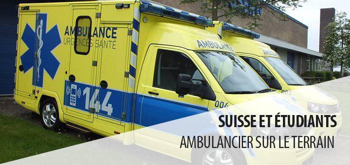 étudiant ambulancier