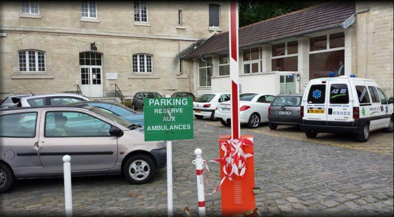 Les ambulanciers et les places de parking
