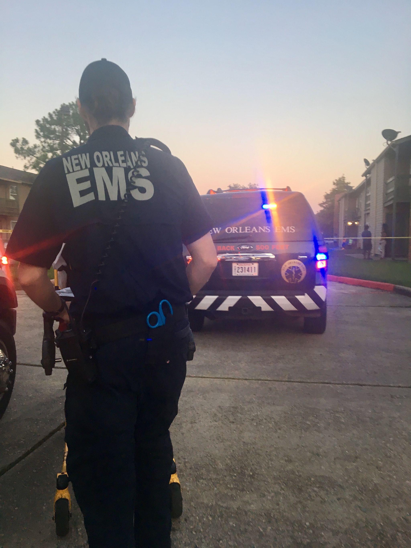 FullSizeRender14 Ambulancier : le site de référence EMS Nouvelle Orléans - Un ambulancier parmi les paramedics