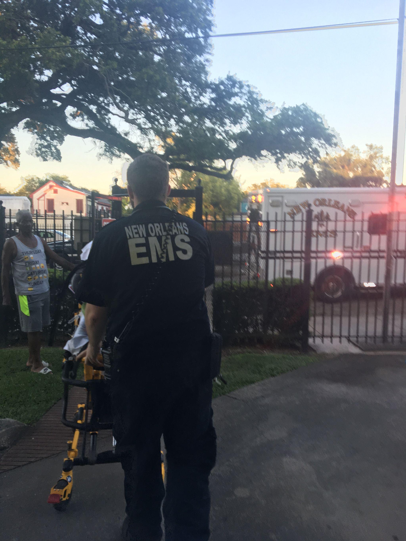 IMG 1801 Ambulancier : le site de référence EMS Nouvelle Orléans - Un ambulancier parmi les paramedics