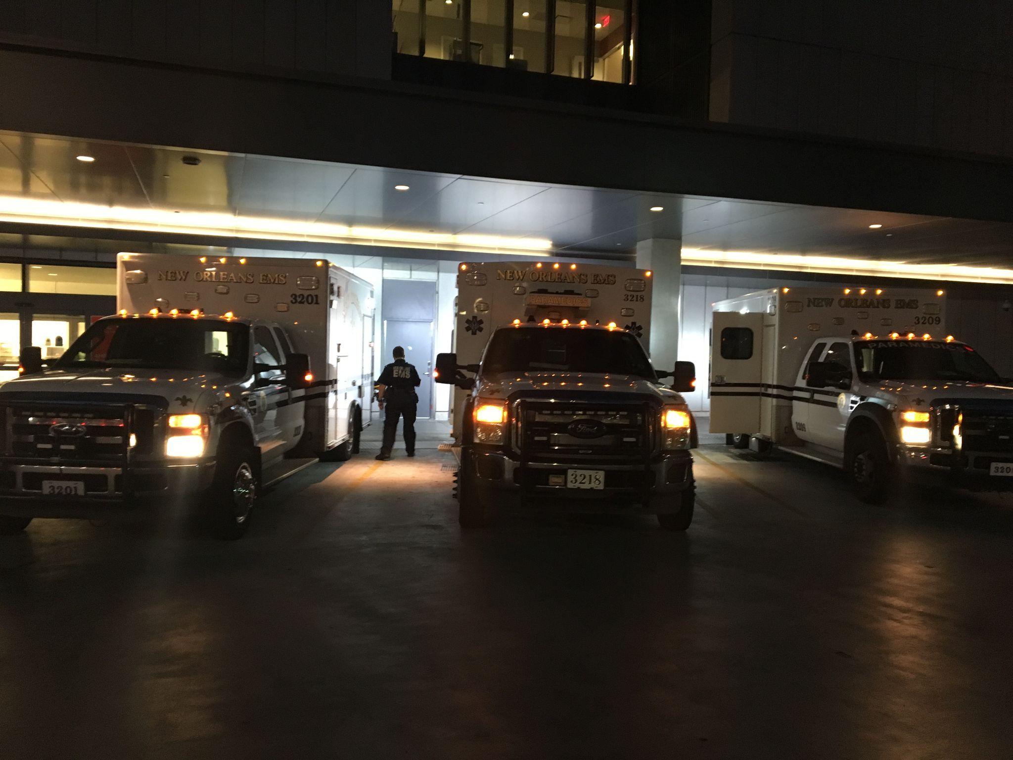 IMG 184035 Ambulancier : le site de référence EMS Nouvelle Orléans - Un ambulancier parmi les paramedics