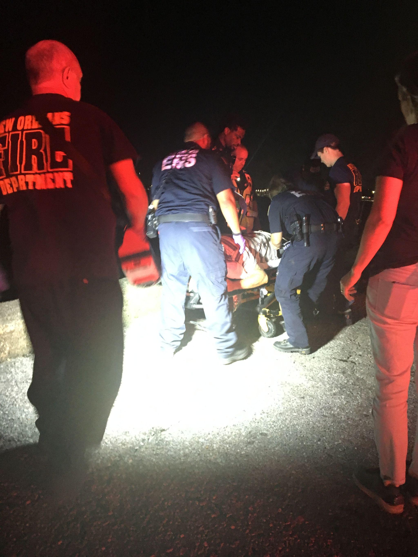 IMG 1861 Ambulancier : le site de référence EMS Nouvelle Orléans - Un ambulancier parmi les paramedics