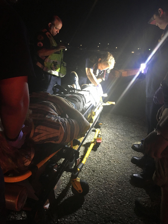 IMG 1864 Ambulancier : le site de référence EMS Nouvelle Orléans - Un ambulancier parmi les paramedics