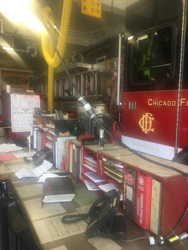 Immersion d'un ambulancier français au Fire Département de Chicago - EMS
