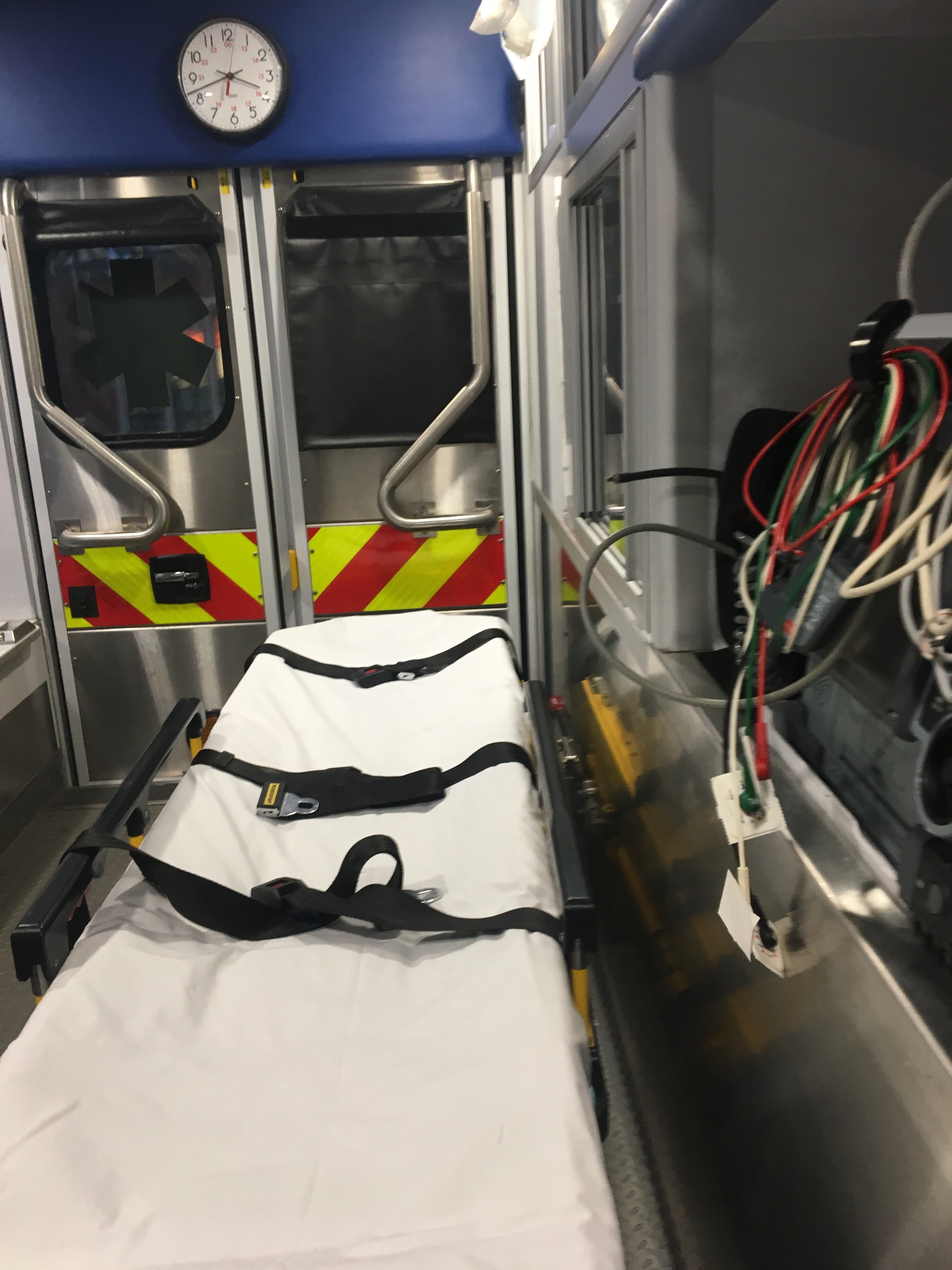 Immersion d'un ambulancier français au Fire Département de Chicago - EMS