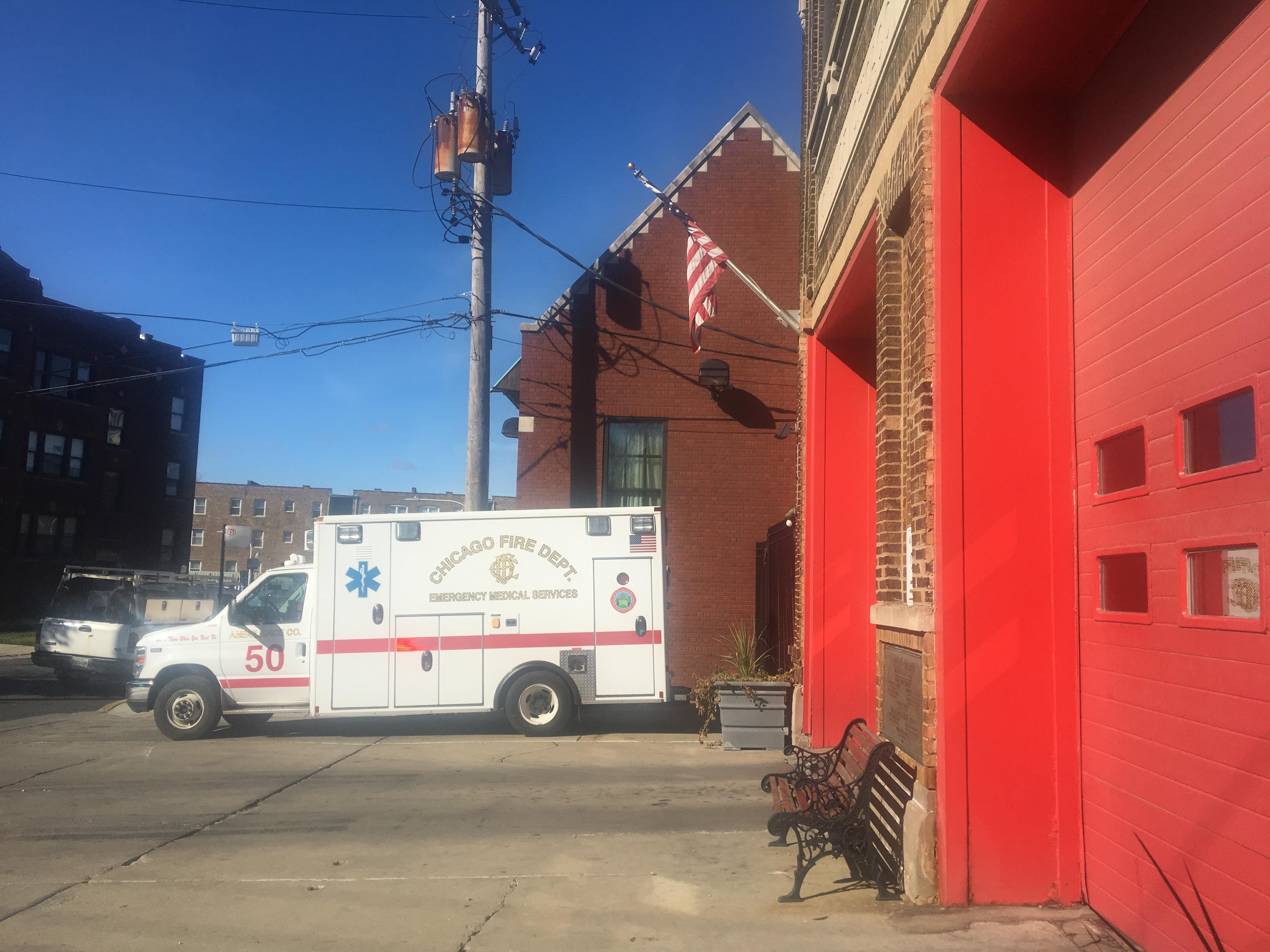 IMG 3986 Ambulancier : le site de référence Immersion chez les EMS Paramedic aux USA - Les images