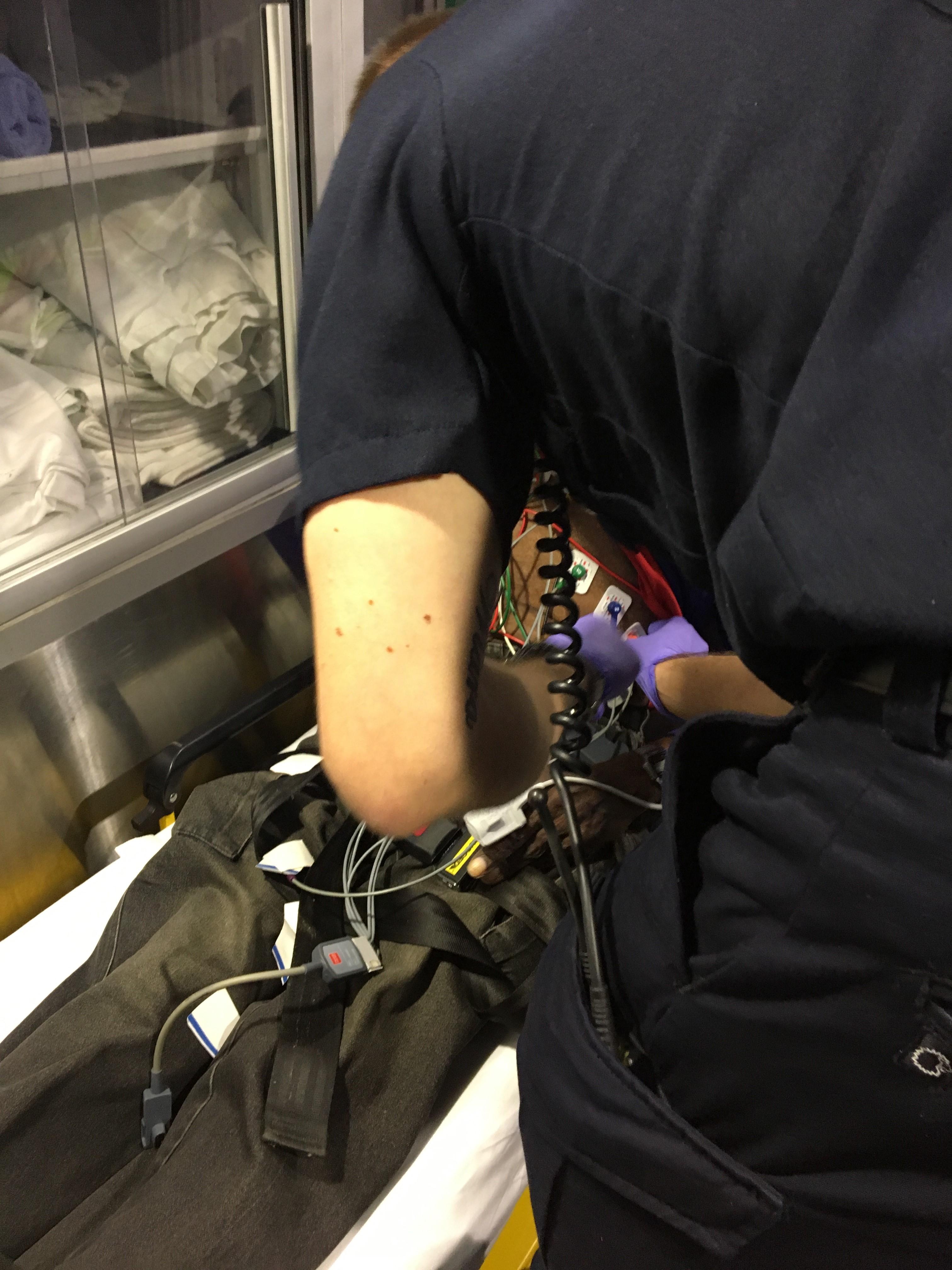 IMG 4012 1 Ambulancier : le site de référence Immersion chez les EMS Paramedic aux USA - Les images