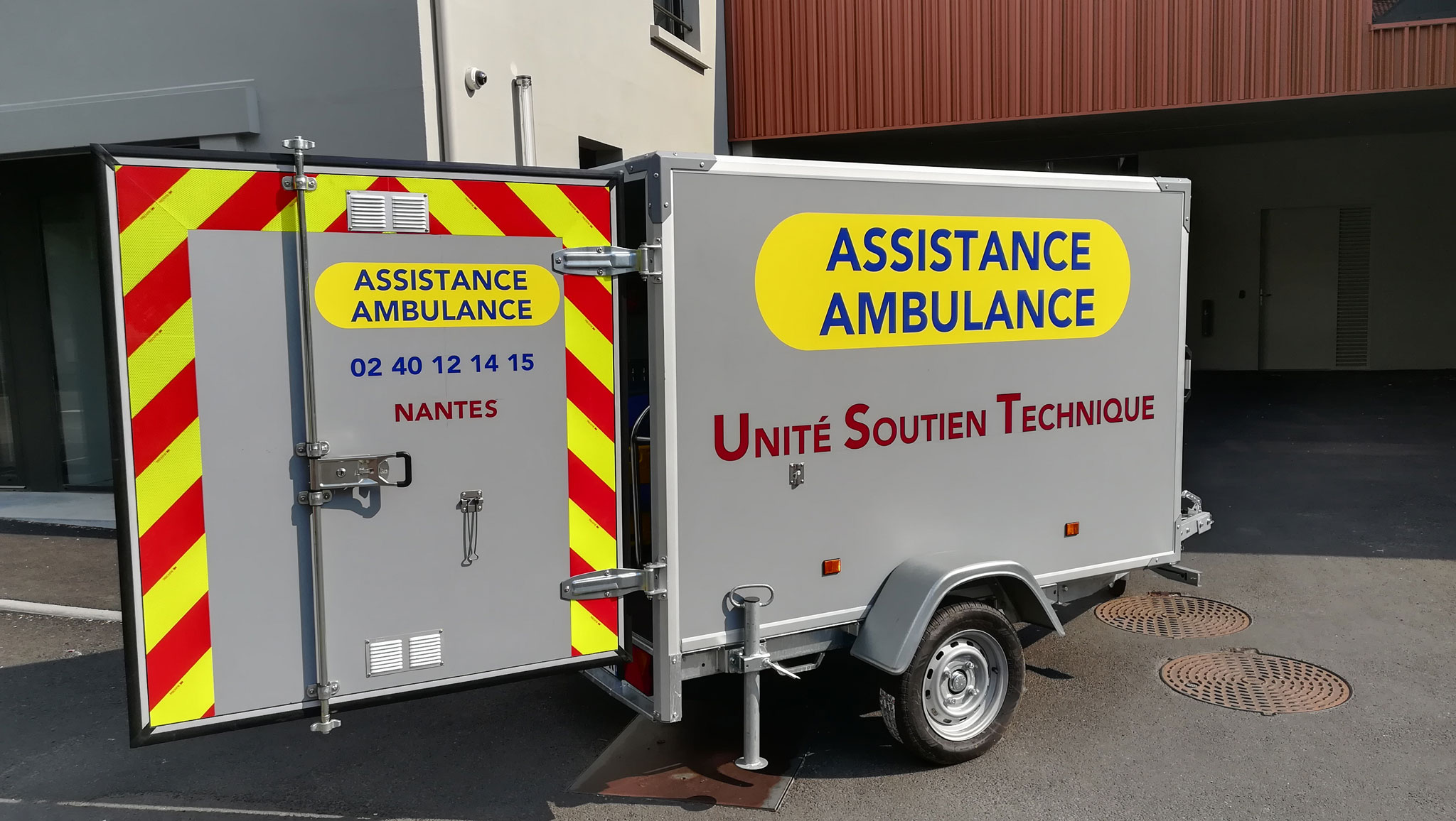 ambulancier, transport bariatrique - Assistance Ambulance