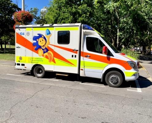 IMG 5974 Ambulancier : le site de référence L'Emergency Medical Service de Hongrie