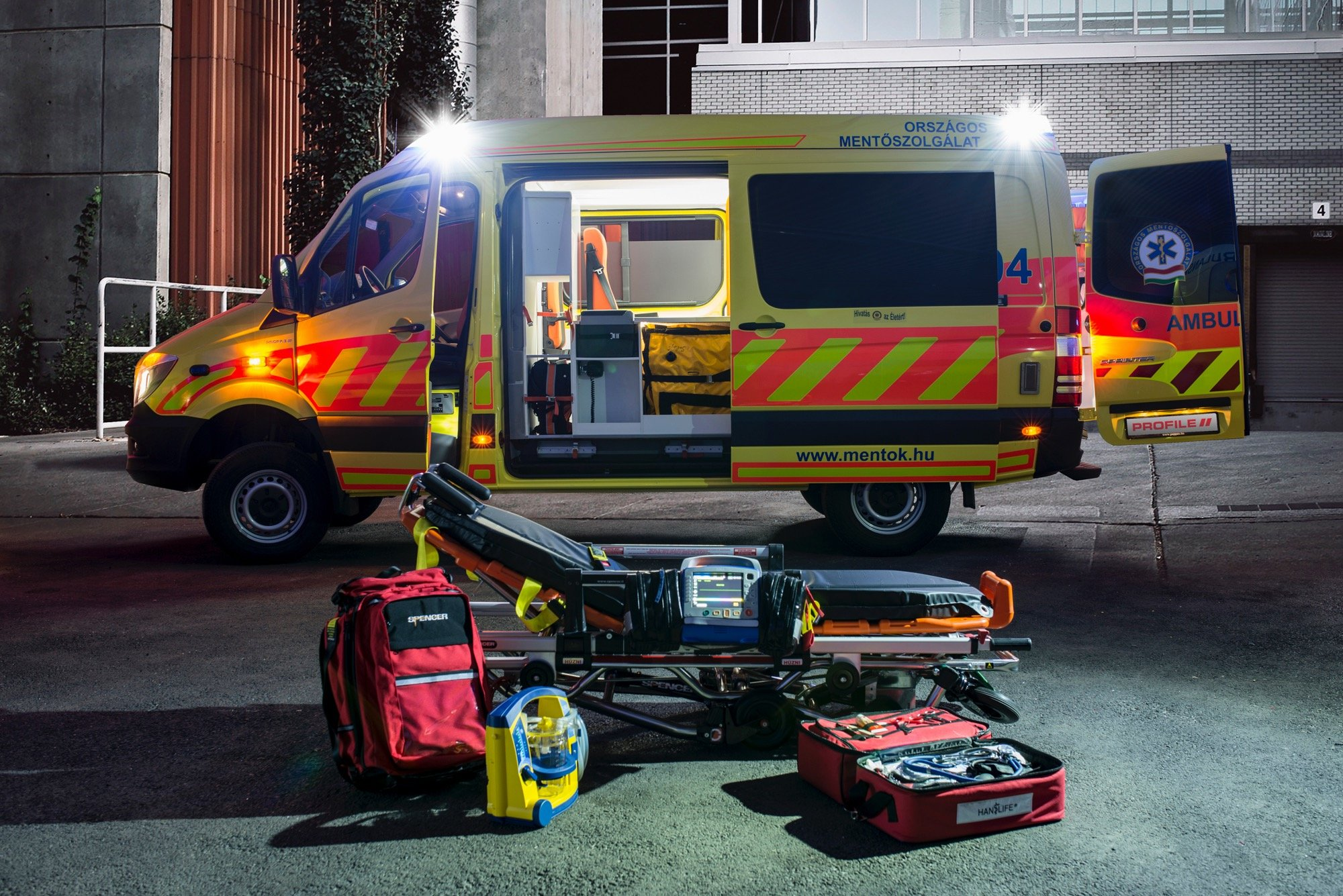 L'Emergency Medical Service de Hongrie
