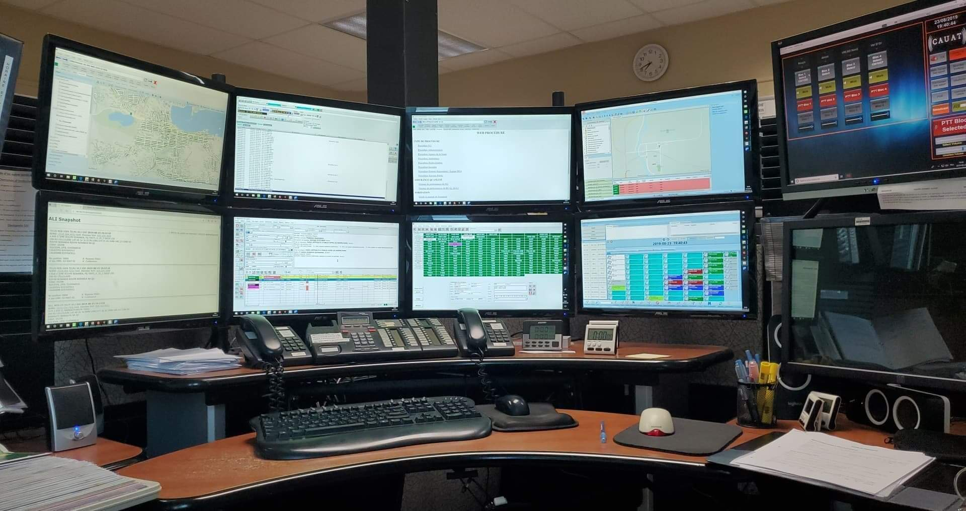 911 : le centre de régulation des appels de secours au Canada