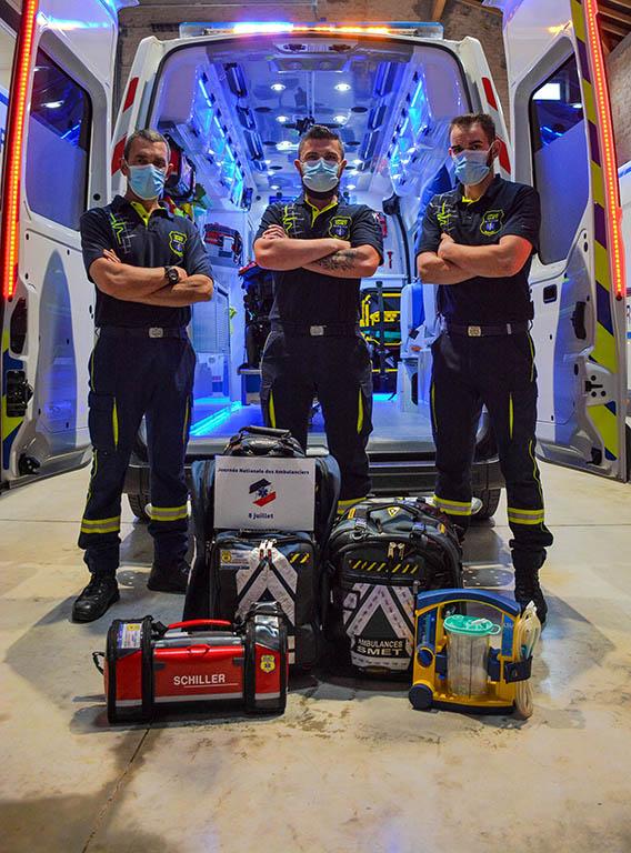 journée nationale des ambulanciers - ambulances smet-ambulancier, le site de référence