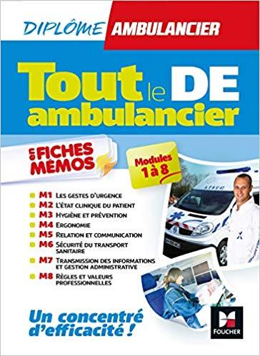 TOUT LE DE AMBULANCIER Ambulancier : le site de référence La librairie de l'ambulancier
