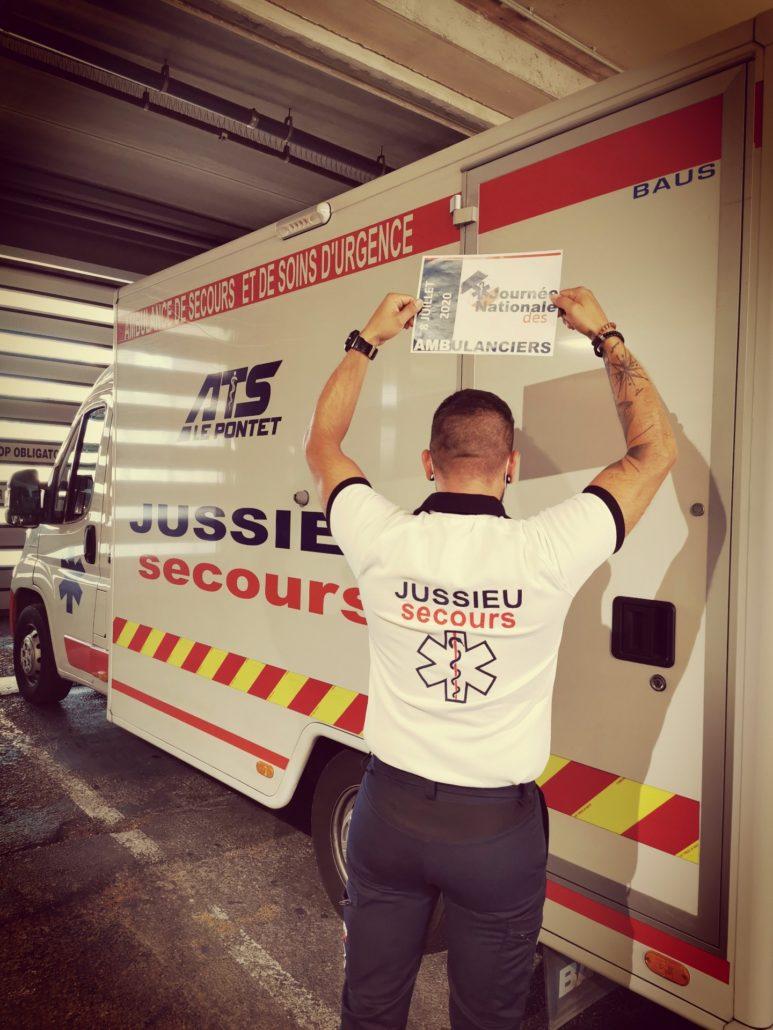 IMG 6269 Ambulancier : le site de référence Journée nationale des ambulanciers le récap'