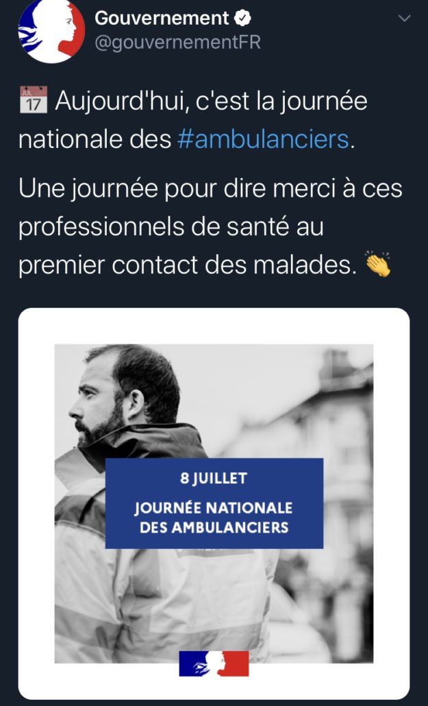 tweet 5 Ambulancier : le site de référence Journée nationale des ambulanciers le récap'
