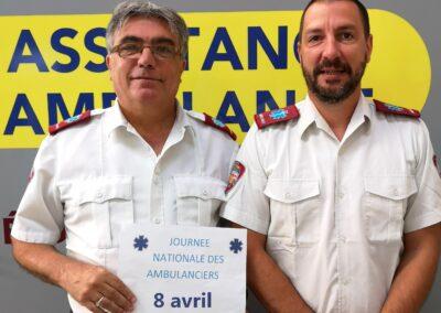 photo 2021 2 Ambulancier : le site de référence La journée Nationale des Ambulanciers